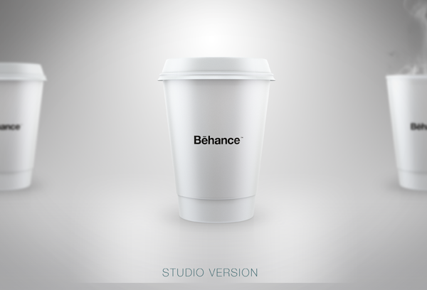 STARBUCKS Style Mockup (Free) on Behance Paper coffee