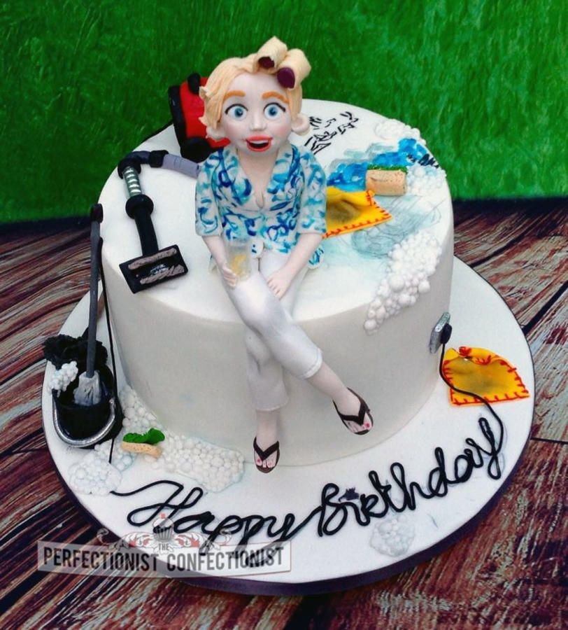 Grey Goose Cleaning Fanatic Cake By Niamh Geraghty Perfectionist