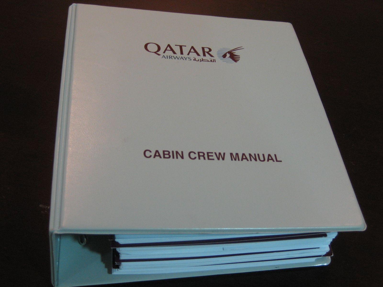 Manual Cabin Crew Flight Attendant Cabin