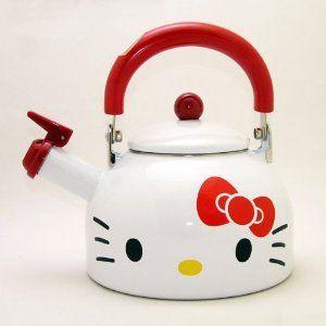 New Hello Kitty Pot Tea Kettle Japan Last One Best Buy Gift | eBay