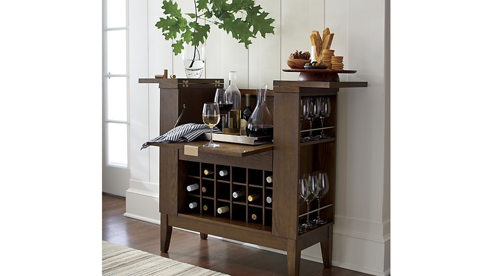 Parker Spirits Bourbon Cabinet Crate And Barrel Home