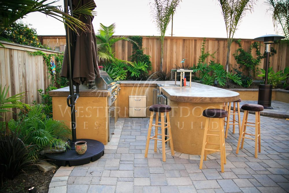 San diego landscaper western outdoor design build bbq for Backyard barbecues outdoor kitchen