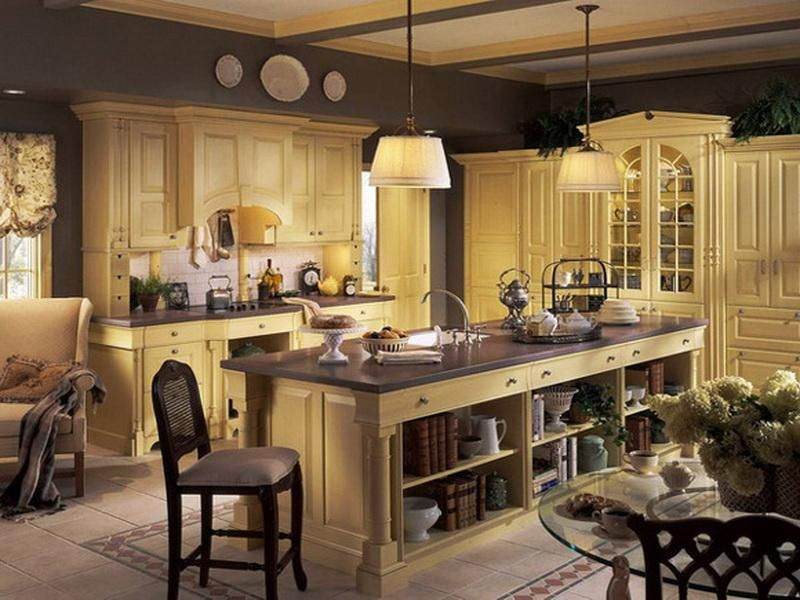 Nice Image Detail For  French Country Decor, Elegant French Country Kitchen  Decorating Ideas .