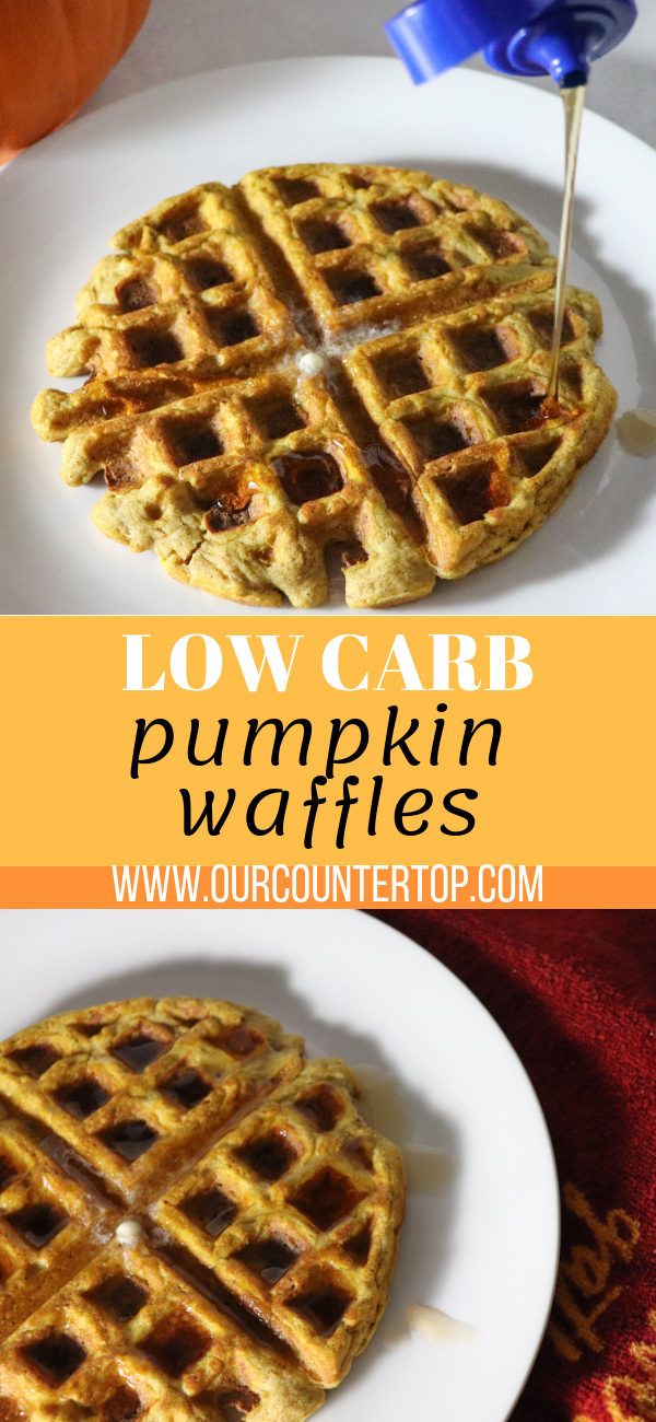 Low Carb Pumpkin Waffles Recipe Low carb waffles