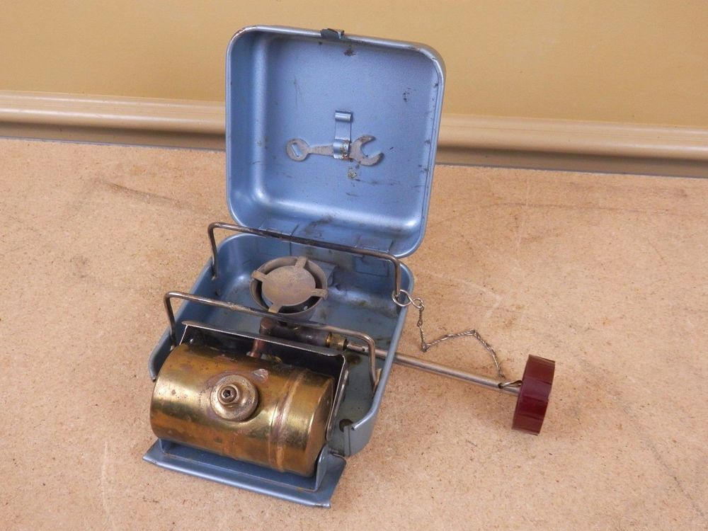 Details About Vintage Optimus Camp 8r Backpack Gas Stove