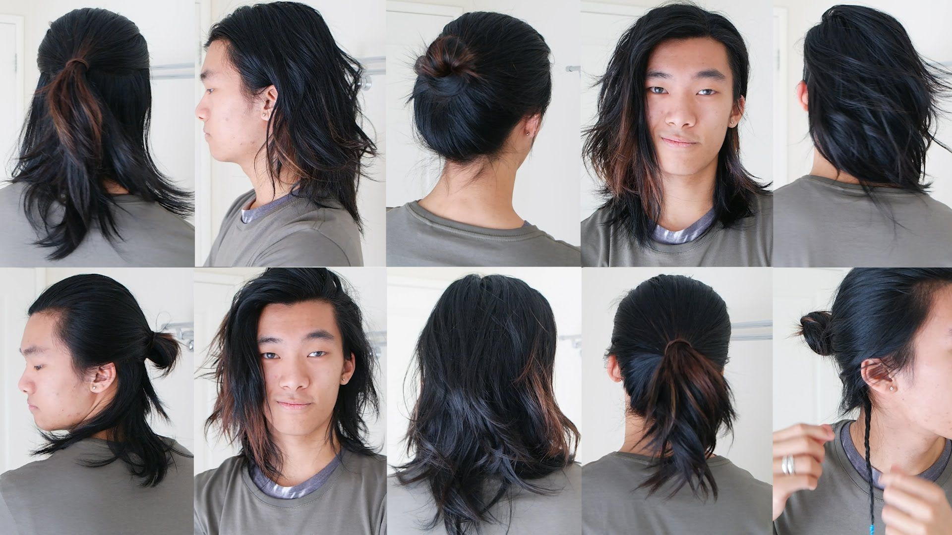 Men Long Hairstyles 10 Easy Long Hairstyles For Men  2016  Peinados  Pinterest