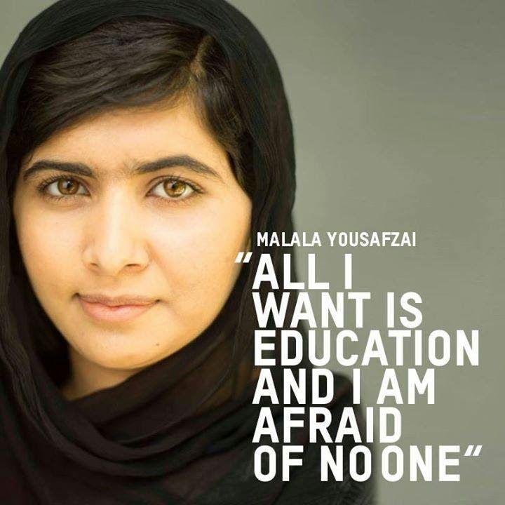 He Named Me Malala Weibliche Zitate Menschen Begeistern Feminismus