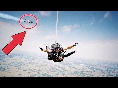 Top 5 Horrifying Skydiving Fails Caught On Camera 2017 Terrifying Skydive Moments Caught On Gopro Youtube Epic Fails Epic Fails