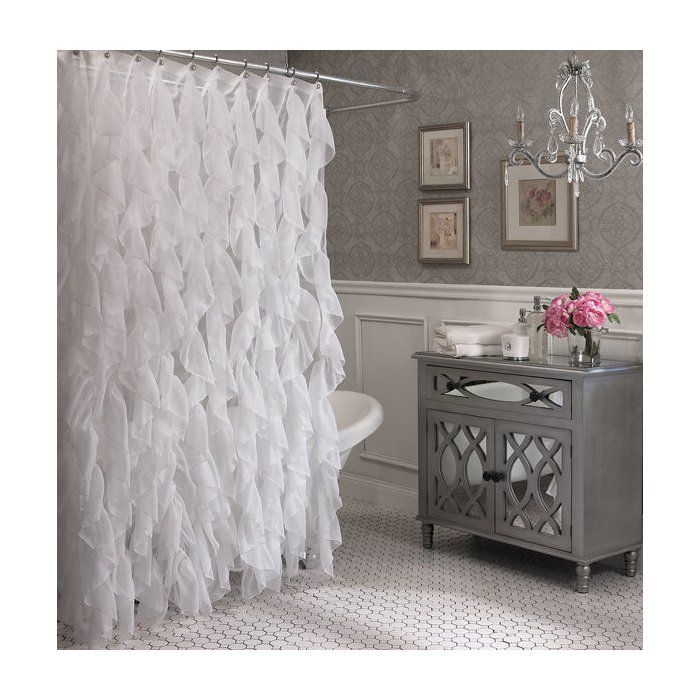 Westendorf Cascading Waterfall Single Shower Curtain images