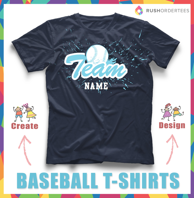 Baseball team t shirt designs the image for Custom t shirts for teams