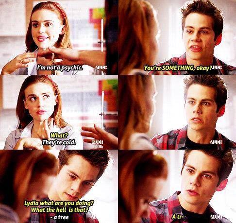 #Lydia #Stiles #Stydia lol :)