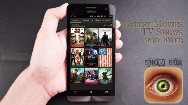 Showbox apk (Download Showbox app) For Android 2015