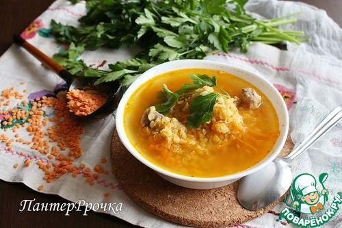 Марокканский суп с красной чечевицей - кулинарный рецепт ...