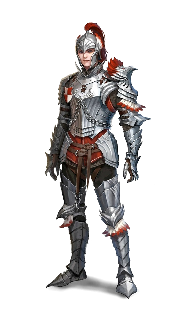 Male Human Fighter Knight Paladin - Pathfinder PFRPG DND D&D 3.5 5th ed d2… in 2019 | Fantasy ...