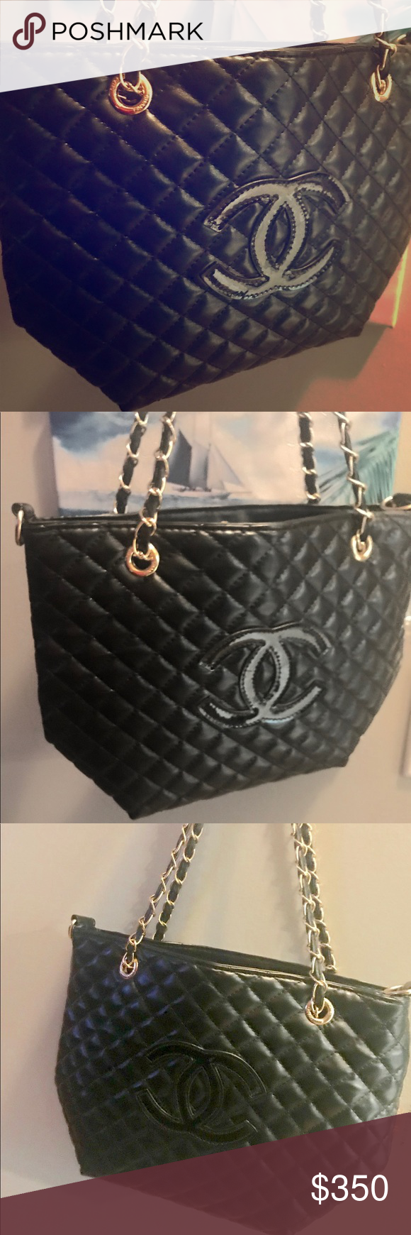 c987a2f6473d NEW CHANEL VIP Precision Black Quilted Beaute Bag Brand New 100% Authentic  Chanel VIP Bag