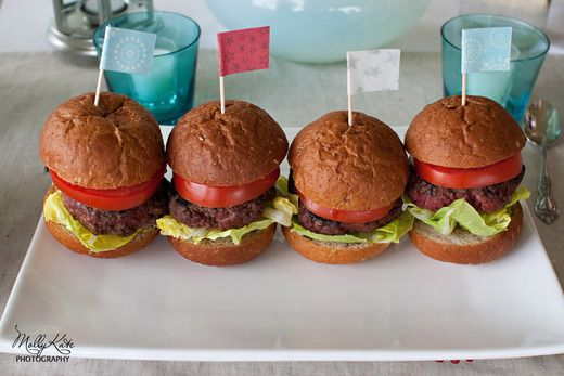 cute little hamburgers!
