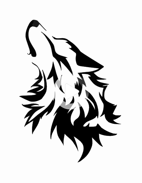 Wolf Howling At The Moon Coloring Pages Commision Howling Wolf By Wolfsouled Clip Art Pochoir Loup Tatouage Loup Silhouette De Loup Moon Coloring Pages Wolf Silhouette Wolf Howling