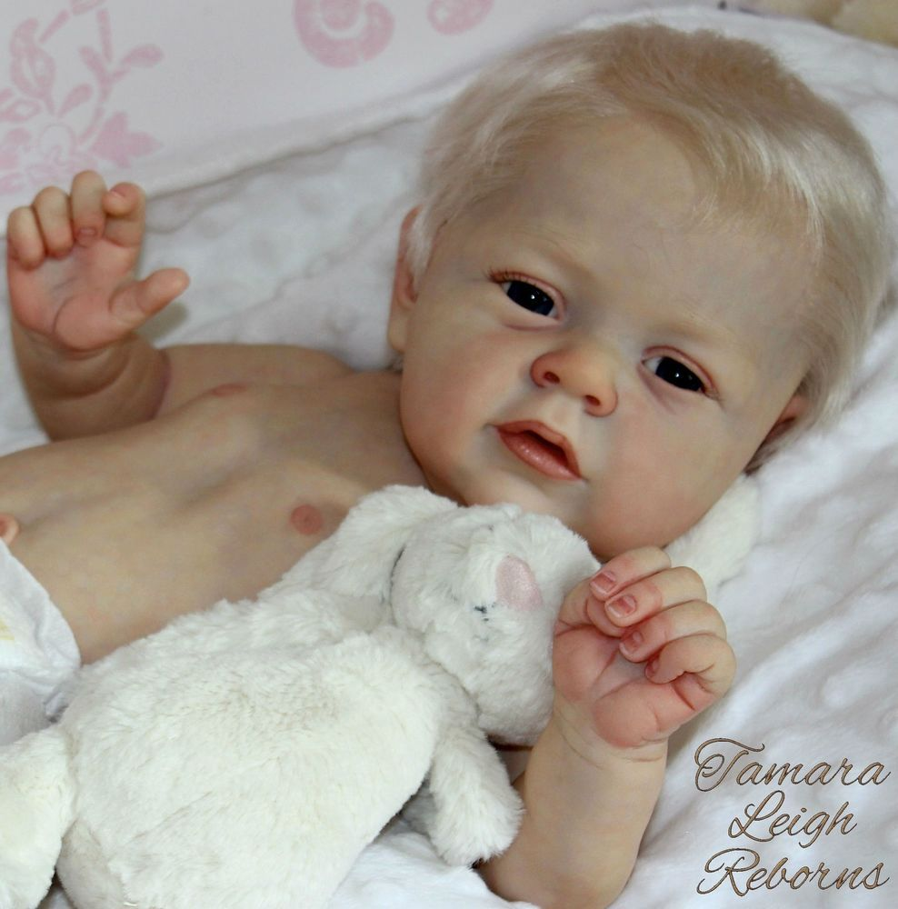 Beautiful Reborn Baby Girl Doll - from Mary Ann kit by Natali Blick ... 1a986c04201
