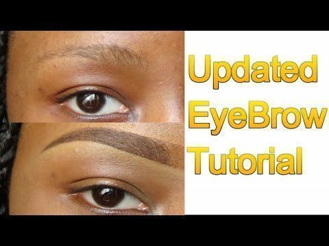 the easiest simple eyebrow tutorial for beginners for