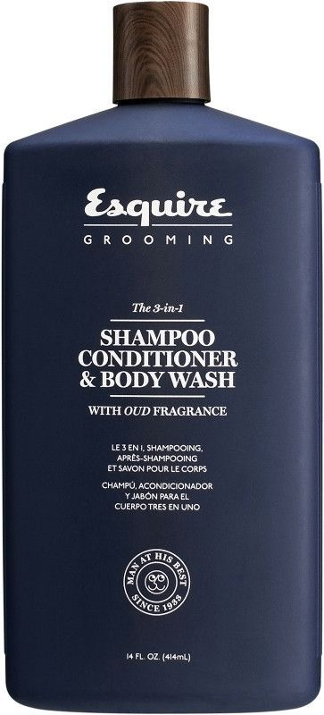 0ce47563ac2f Esquire Grooming The 3-in-1 Shampoo, Conditioner & Body Wash | Mens ...