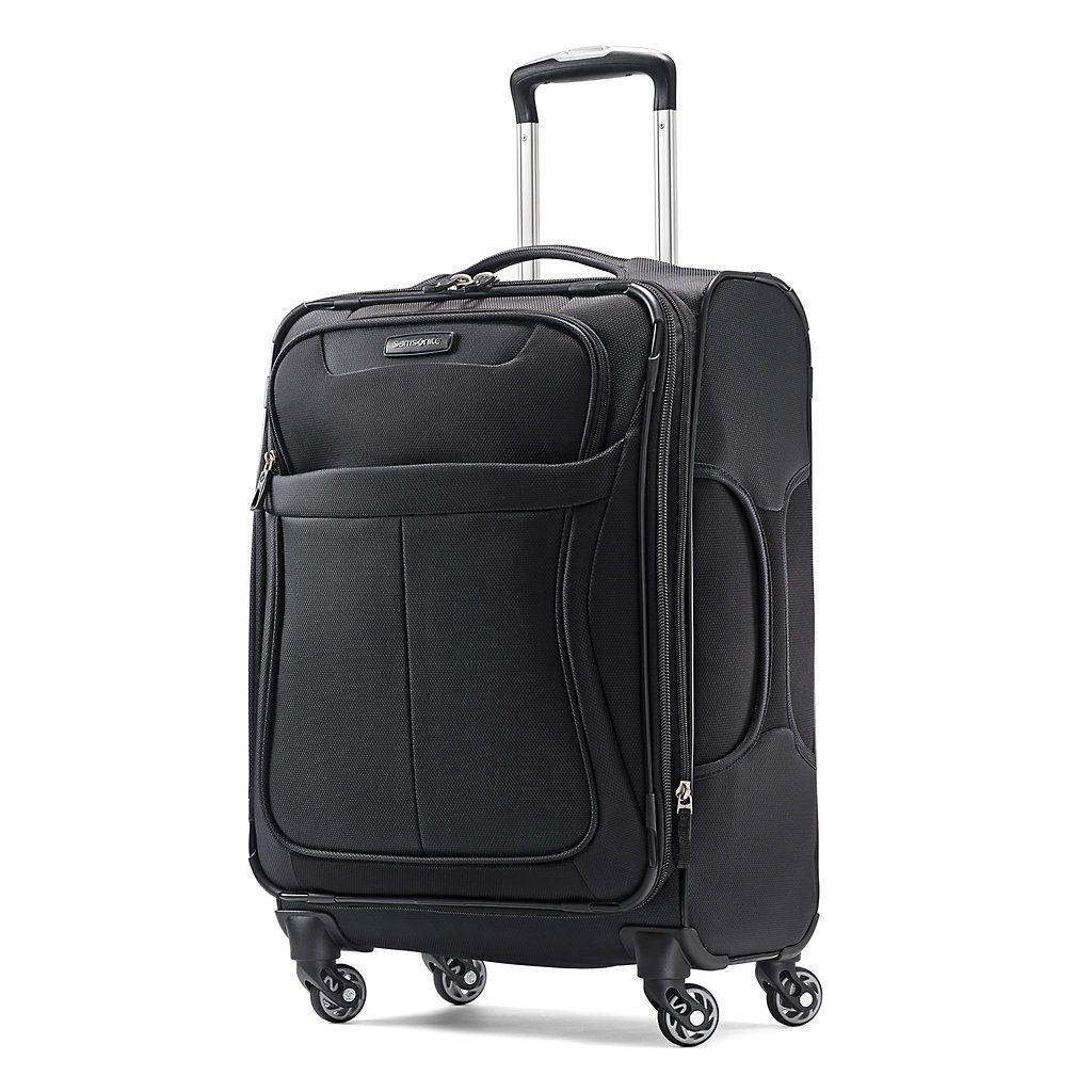 Samsonite Levit8 Lite 21-Inch Spinner Carry-On Luggage, Black ...