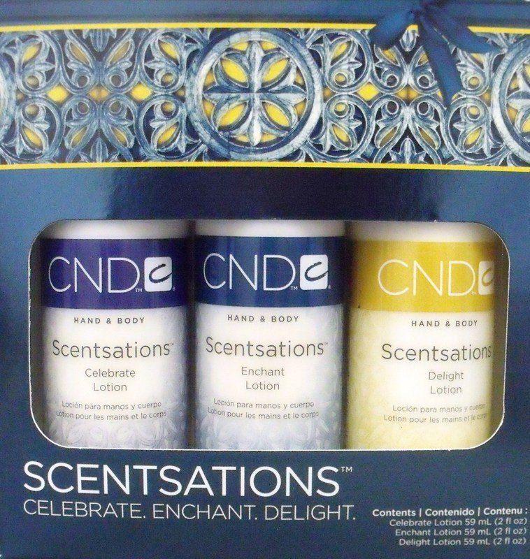 Creative Nail Scentsations Holiday Lotion Trio Creative Nails