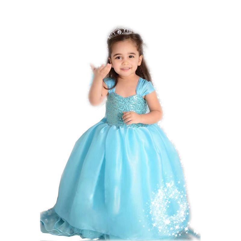 Find More Dresses Information about Princess Girl Dress Summer ...