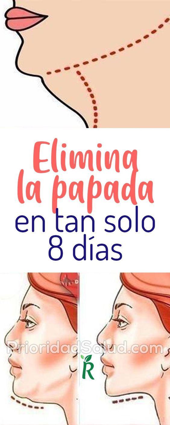 7 ejercicios efectivos para eliminar la papada sin liposucción