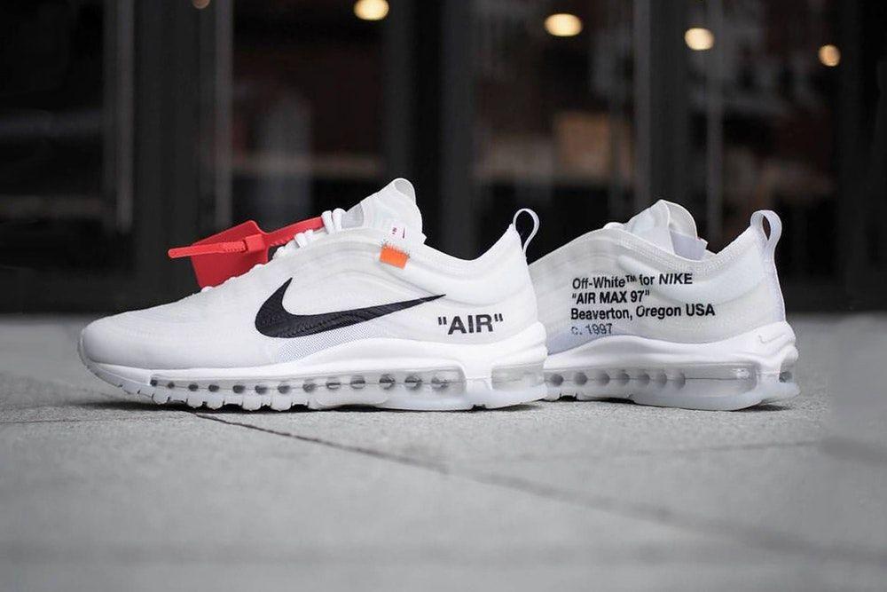 Virgil Abloh X Nike The 10 :air Max 97 Og Sneakers