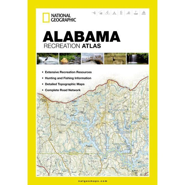 Features:  -Cross-referenced chart of fishing areas with species information.  -Game management units.  -Campgrounds and attraction charts.  -State Parks maps and facilities.  -Hiking, golfing, skiing