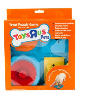 Toys R Us Pets Treats Puzzle Game Petsmart Interactive Dog