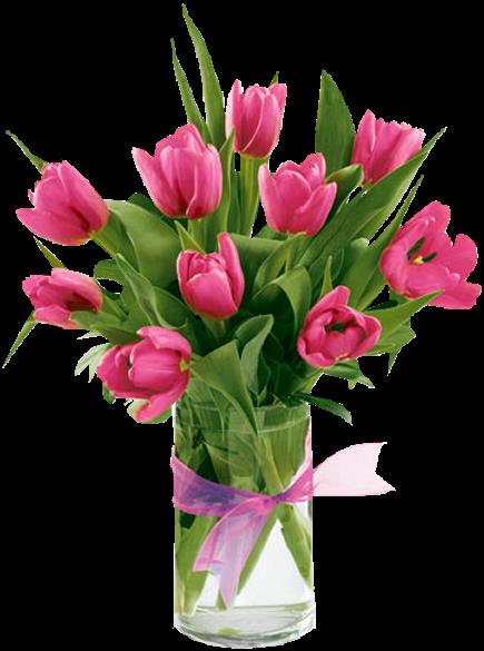 Fleur Vase Vase Of Flowers Tulips Flowers Flower Vases