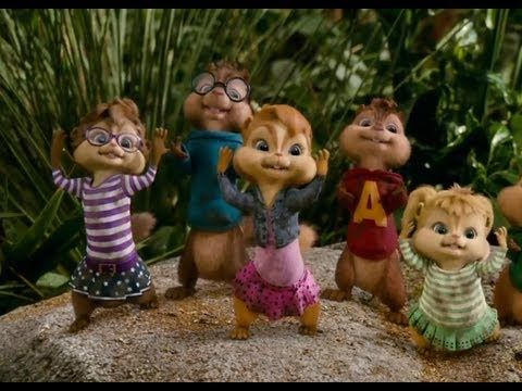 Alvin And The Chipmunks Chip Wrecked Bad Romance Dance Scene
