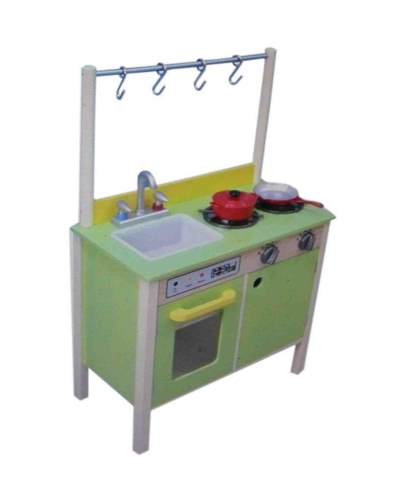 Teamson W-11411A Holz Kinderküche Spielküche Kinder Küche ...