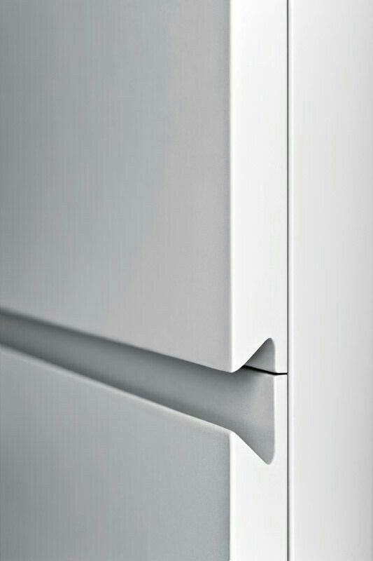 Sleek Hidden Cabinet Handles. Could Be Used Everywhere In The House For  Consistent UX