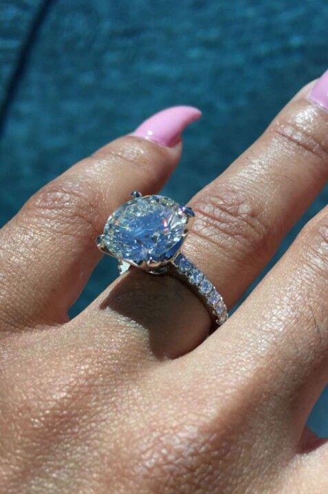 Blac Chynas 7 carat engagement ring RingaBling Pinterest