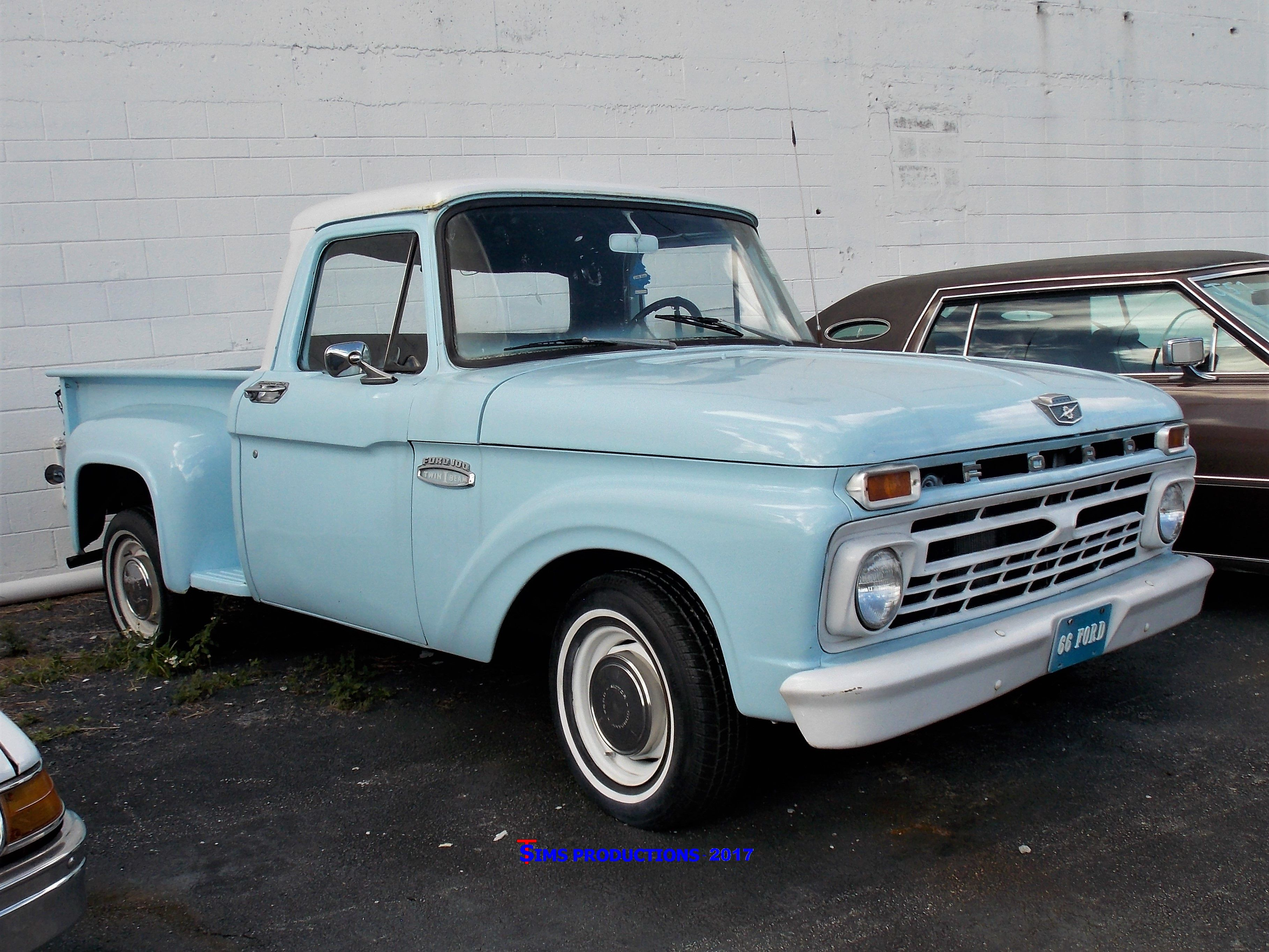 1966 ford f100 stepside pickup truck vintageauto antiqueauto  [ 3635 x 2727 Pixel ]
