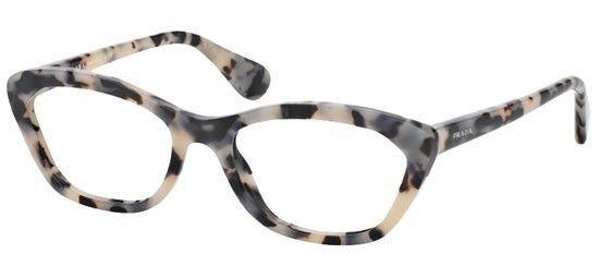 1c2552494bb Brand new prada vpr03qv pr 03qv eyeglasses. white havana. size 52 ...
