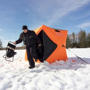 Fish Inn Rendezvous 2-3 Person Pop Up Ice Fishing Tent - costco & Fish Inn Rendezvous 2-3 Person Pop Up Ice Fishing Tent - costco ...