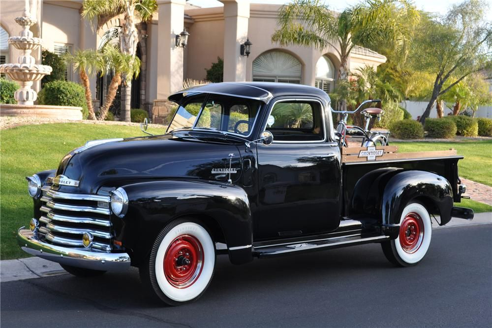 A restored American made classic powered by Chevrolet\'s 235cid 6 ...