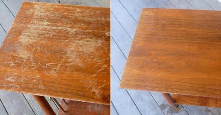 Comment remettre à neuf un meuble en bois, abîmé par des égratignures!