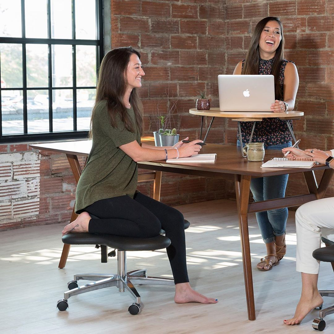 Company designs chair for people who love to sit cross