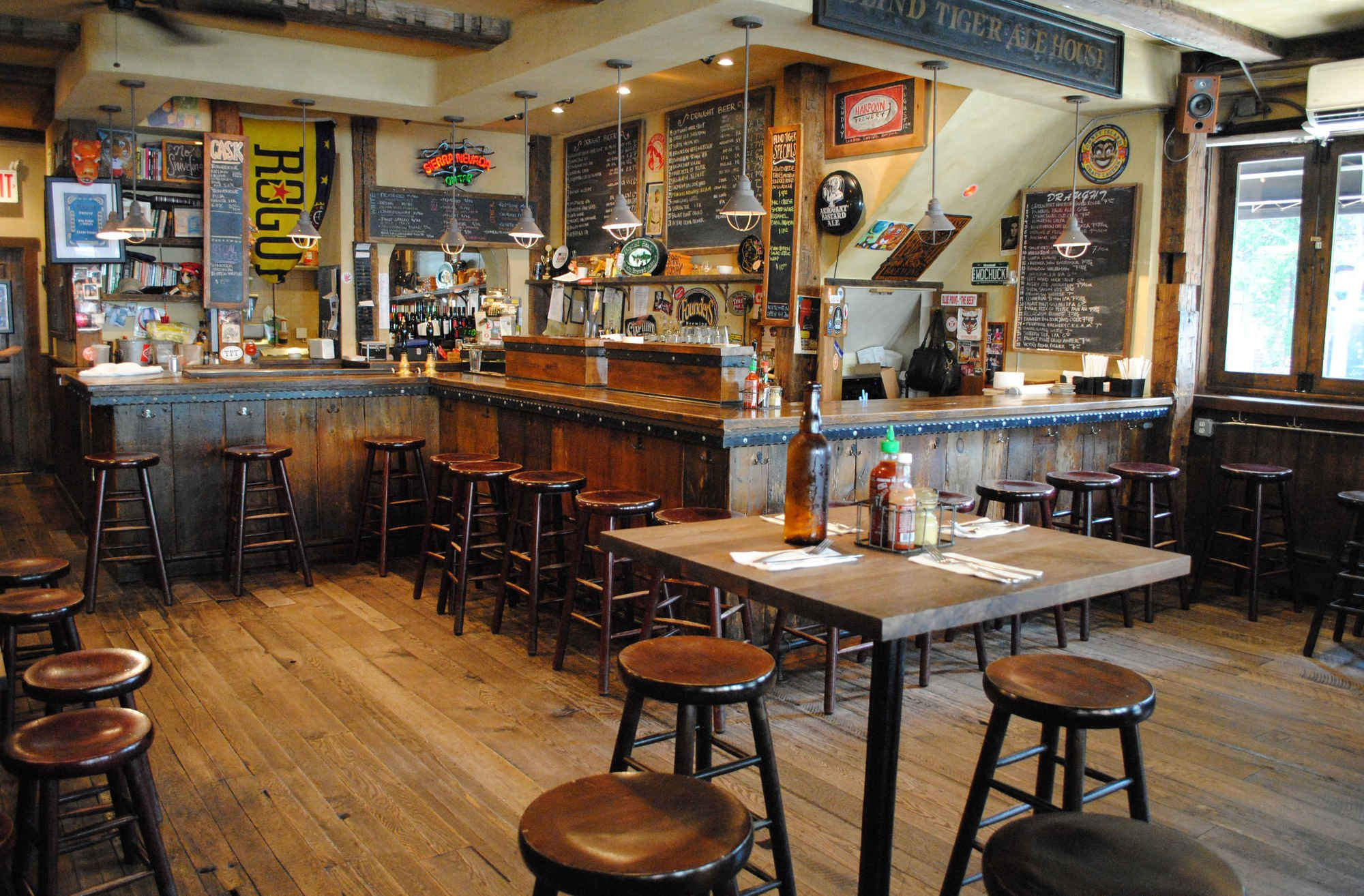 These are NYC's 16 best beer bars for Scott (Blind Tiger bar also top 33 in USA