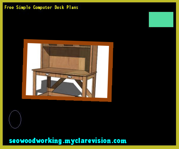 Free Simple Computer Desk Plans 171237 - Woodworking Plans and Projects!