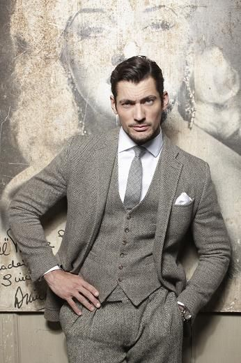Ede & Ravenscroft gray three piece #suit #menswear | --> ONLY Repinned by Alireza Rezvani