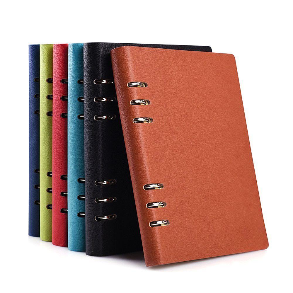 original code promo meilleur choix Zhi Jin A5 Courroie Poche Cuir Carnet de notes rechargeable ...