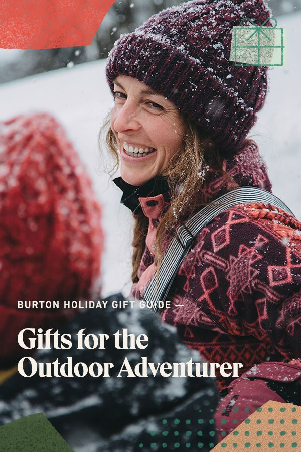 Some people can't stay indoors when winter comes around. Gear them up for cold weather adventures with Burton jackets, bags and apparel. Shop our holiday guide for outdoor adventurers.