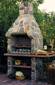 Savannah Outdoor Fireplace Kit Allows Cooking As Well As Firewatching I Would Love Outdoor Fireplace Designs Rustic Outdoor Fireplaces Outdoor Fireplace Kits