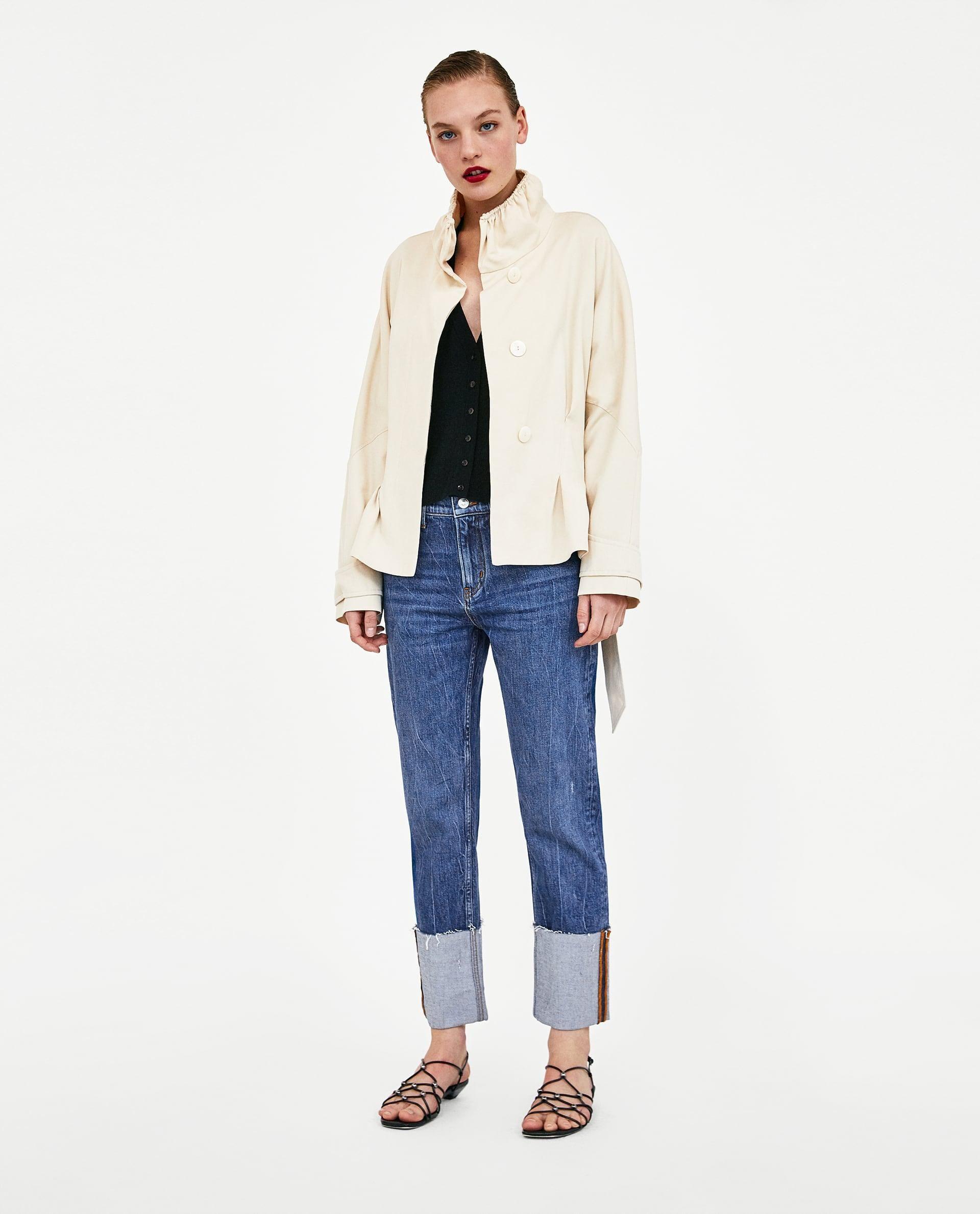 5da91f13c9 Jeans Folded Up Slim Legend Blue // 69.90 USD // Zara // The Folded ...