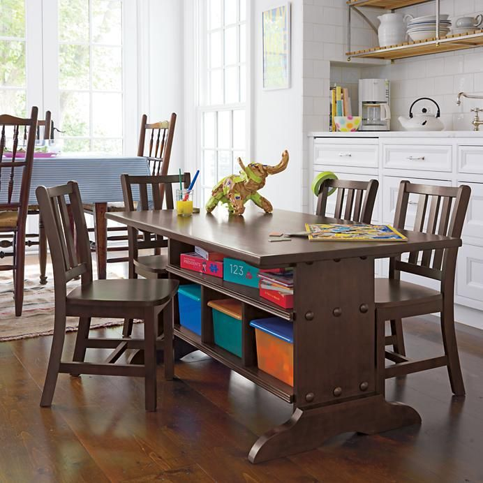 Great Kids Table With Storage Underneath Playroom Table Kids Table With Storage Kids Table And Chairs